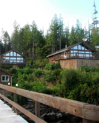 Cabins at Duval Point Lodge